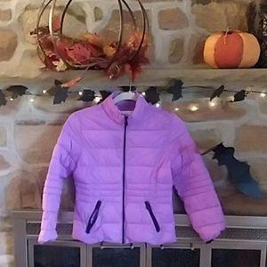 Girls purple justice jacket